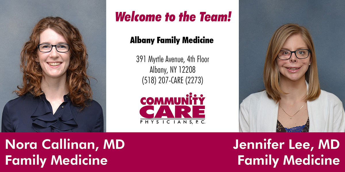 Albany Family Medicine Welcomes Two Providers