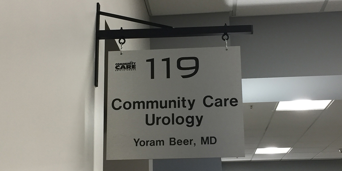 Community Care Physicians Welcomes Dr. Yoram Beer and Community Care Urology
