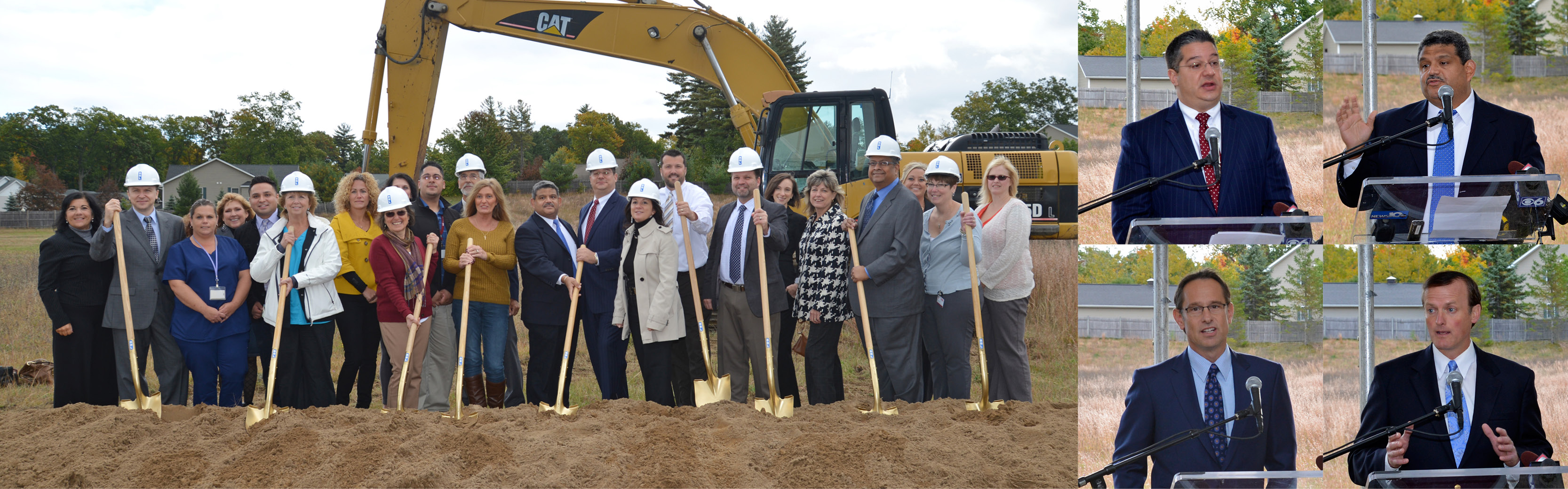 Groundbreaking for Community Care Physicians Medical Arts Complex