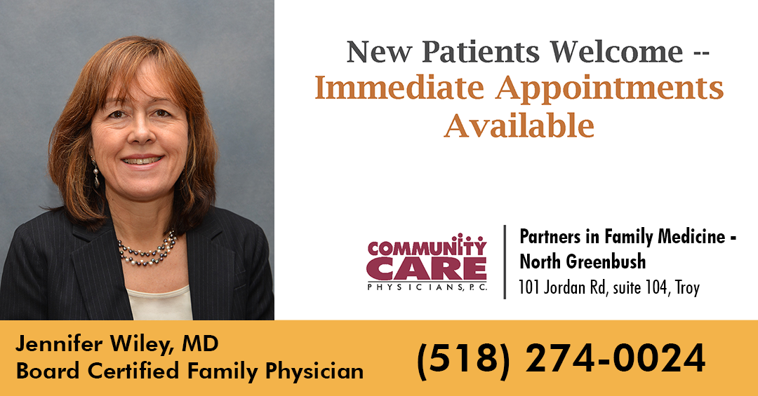 Introducing our New Family Physician: Jennifer Wiley, MD