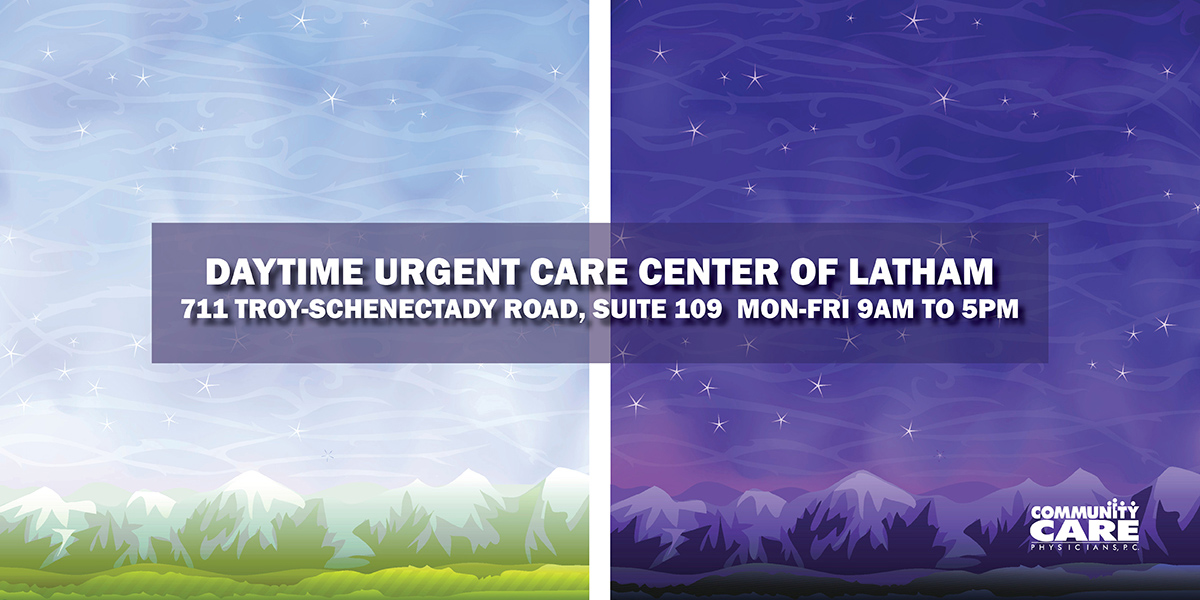 Daytime Urgent Care Center is Now Open in Latham!