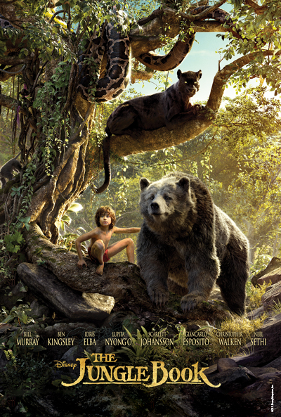Jungle Book Movie poster image