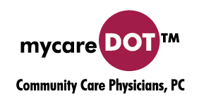 mycareDot Logo Community Care Physicians