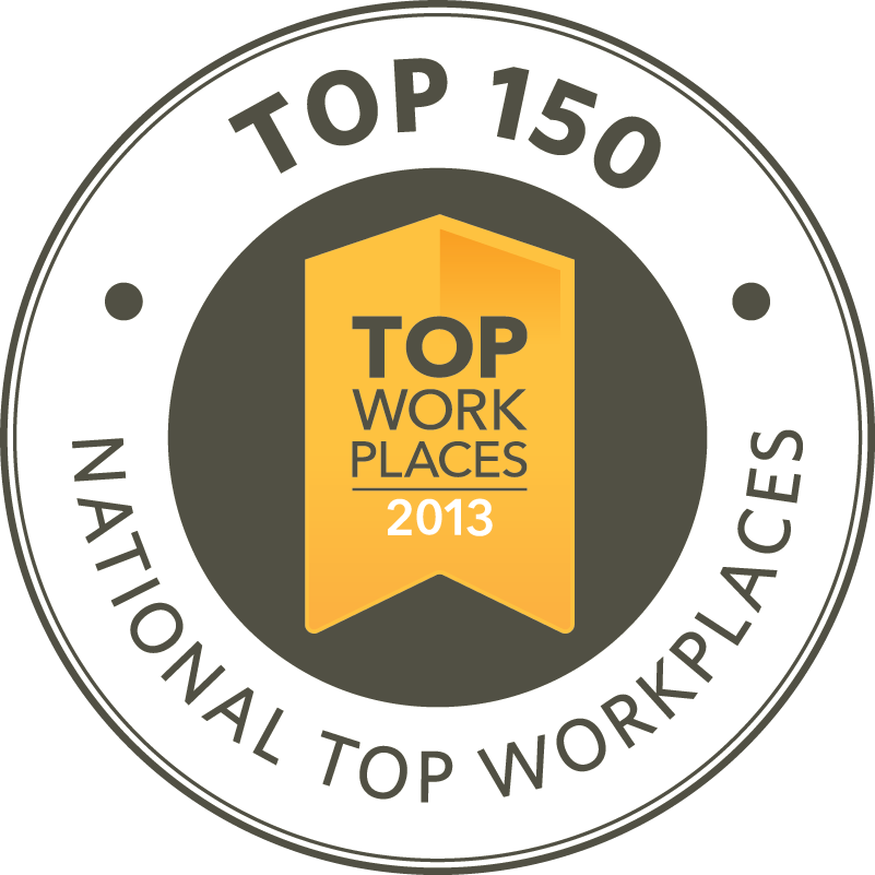 Top 150 Workplaces National List
